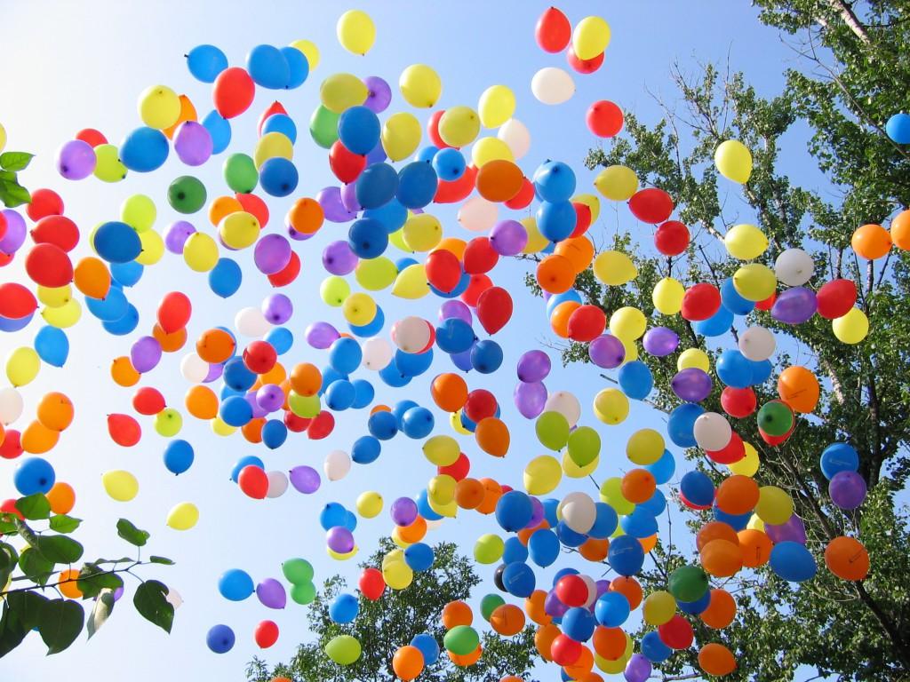 Массовый запуск воздушных шаров запрещен. Что теперь делать?