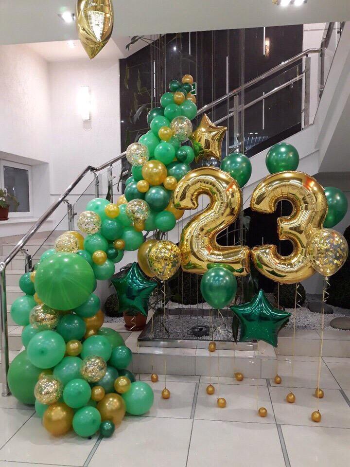 5 идей для подарка и оформления воздушными шарами на 23 февраля