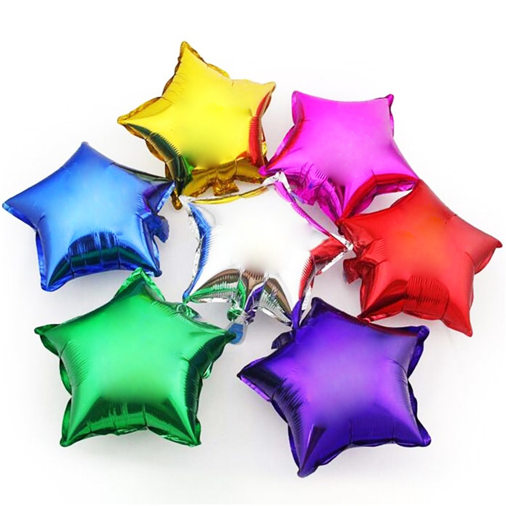 Украшения праздников фольгированными воздушными шарами