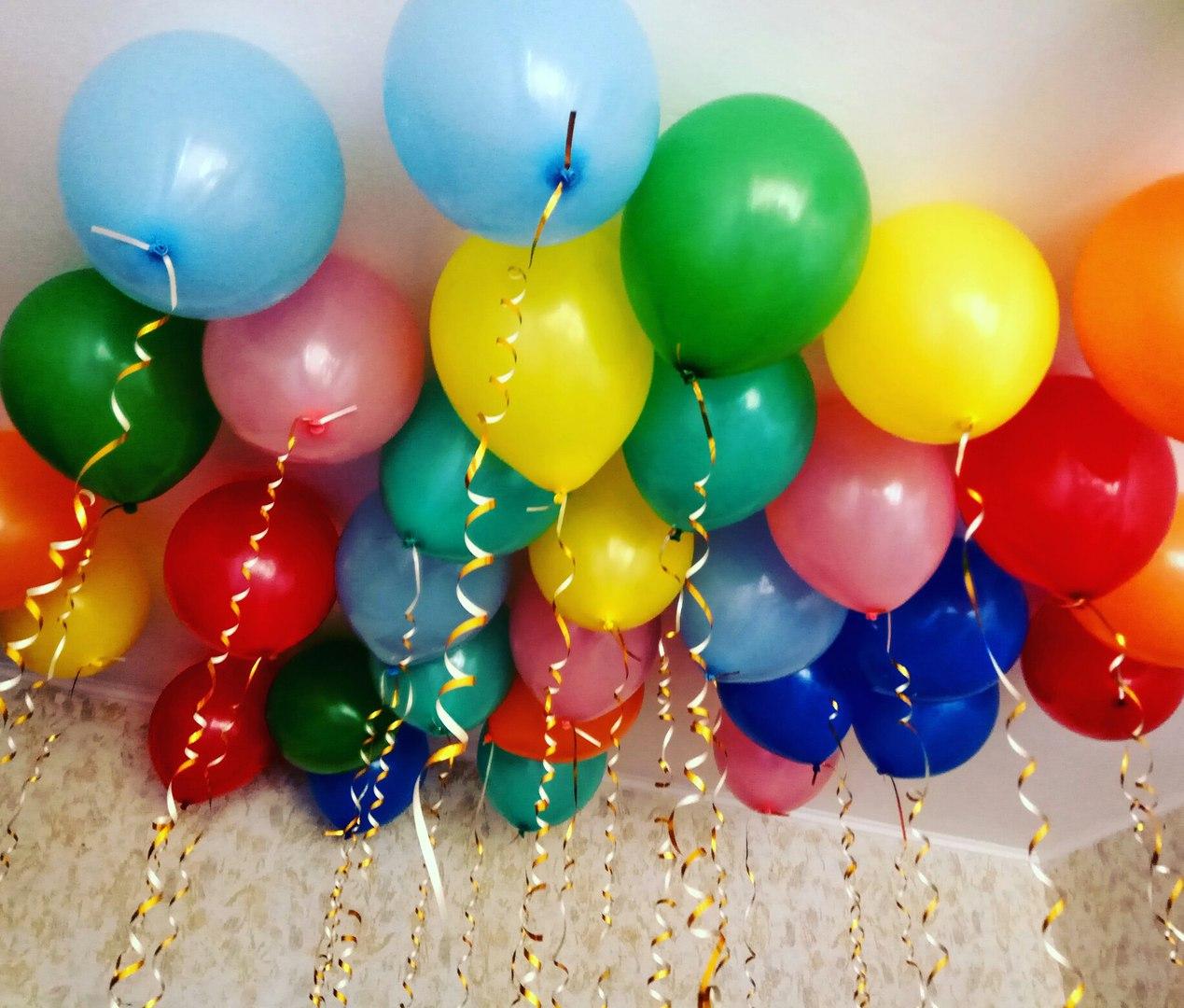 Как выбрать воздушные шарики с гелием под потолок? 3 оригинальных решения