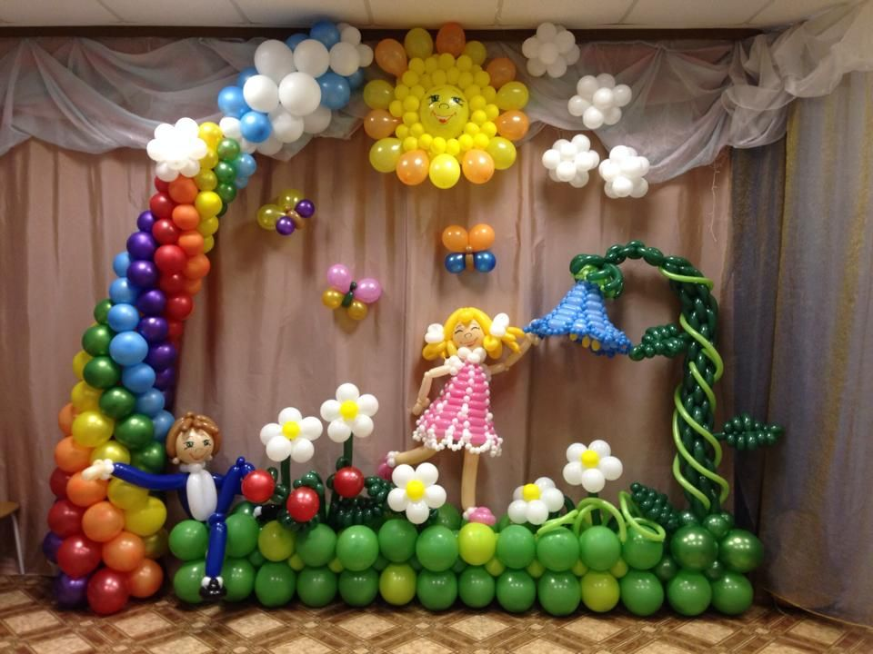 Как выбрать воздушные шары на выпускной в детском саду? ТОП-7 советов