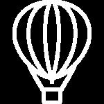 иконка белая большие шары