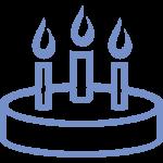иконка с днём рождения на главной