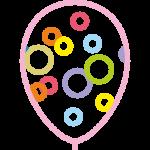 иконка шары конфетти