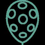 иконка шары с рисунком