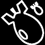 иконка белая сброс шаров
