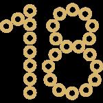 иконка плетёные цифры и буквы